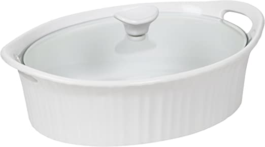 Amazon.com: Corningware, cazuela francesa oval III, color ...