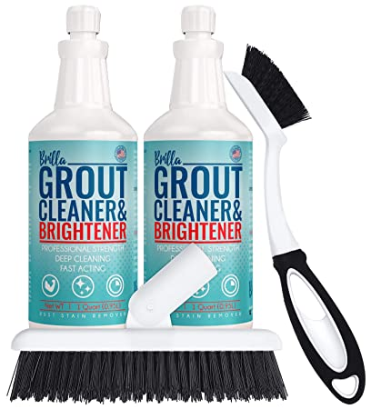Amazing Grout Cleaner And Brightener Deep Cleans Bathroom And Kitchen Tile Grout On Walls And Floor 2 Home Interior And Landscaping Palasignezvosmurscom