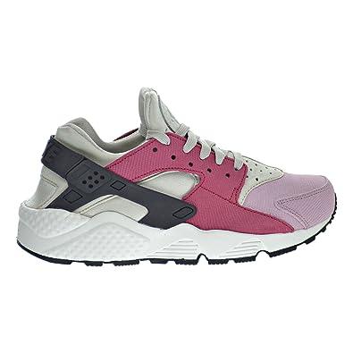 9b6c290226c53 Nike Air Huarache Run PRM Women s Shoes Light Bone Black Noble Red Plum