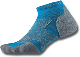 product image for Thorlos Experia Energy Micro Mini Crew Sock Size: Xs, Lt Blue with a Helicase Sock Ring