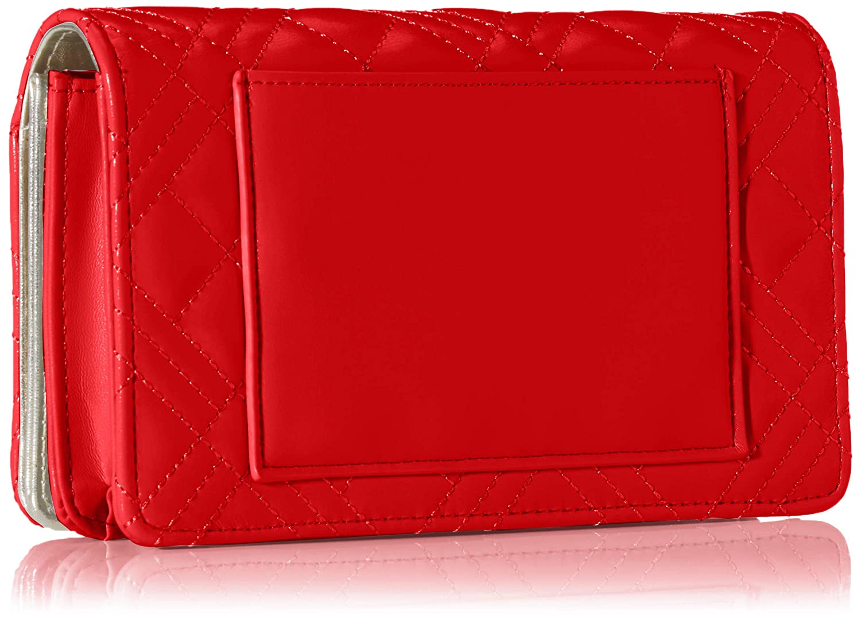 Love Moschino dam Jc4093pp1a handväska, 4 x 11 x 18 centimeter Röd (rosso)