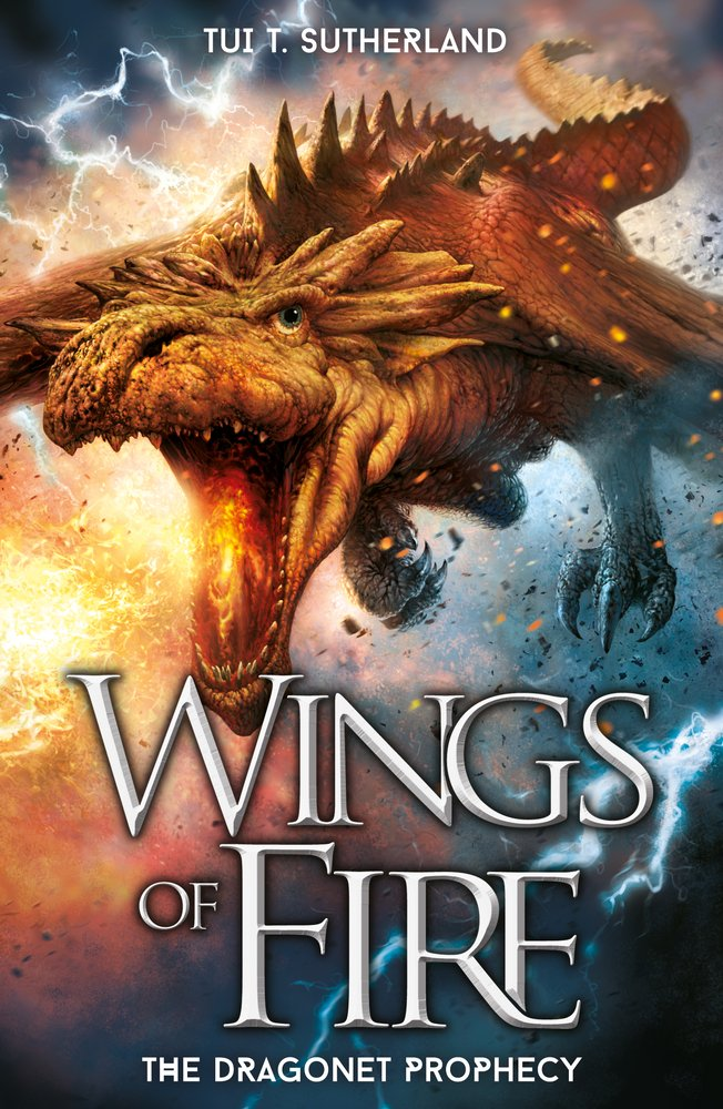 The Dragonet Prophecy Wings Of Fire Amazon Co Uk Sutherland Tui T Books