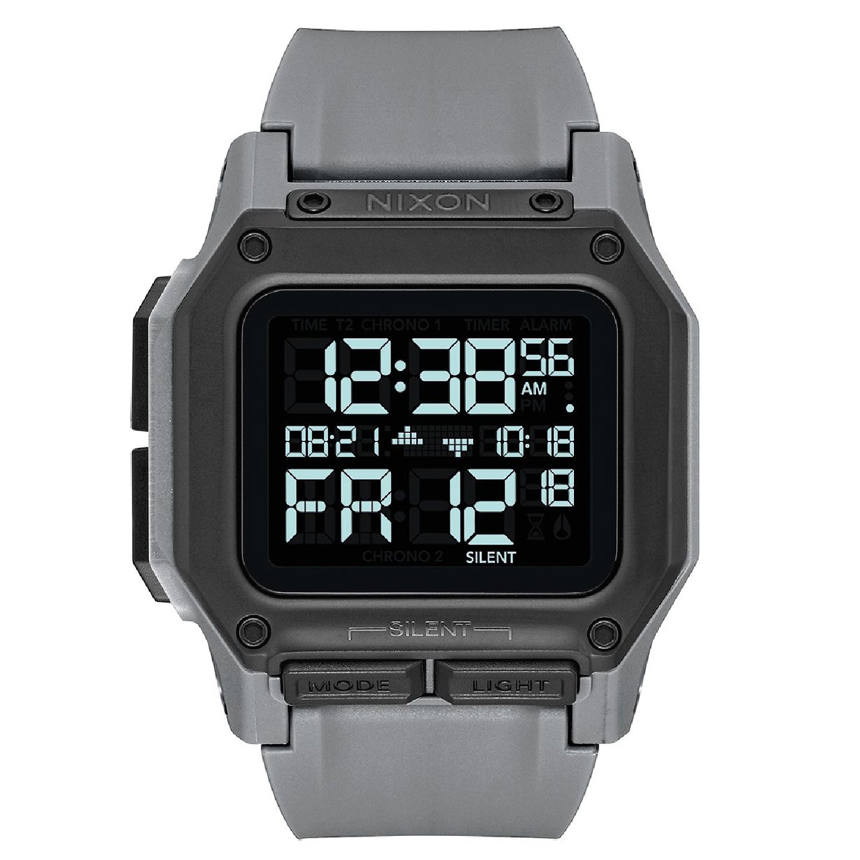 Nixon Men's Regulus Watch, 46mm, Gunmetal, One Size