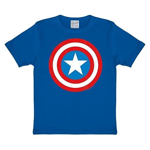 3 opinioni per Capitan America- T-shirt della Marvel per bambini- Stampa Shield- Per fan dei