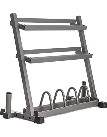 XMark Powerhouse II Includes Rack, 350 lbs. of Dumbbells, Curl Bar, Lumberjack