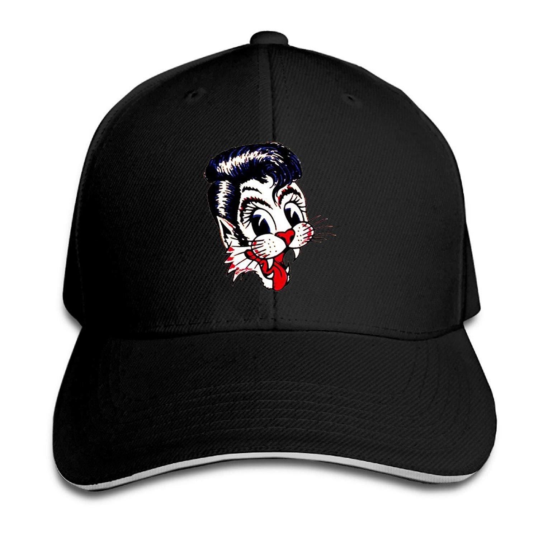 WefyLtesnhd American Rockabilly Band Stray Cats Baseball Caps ...