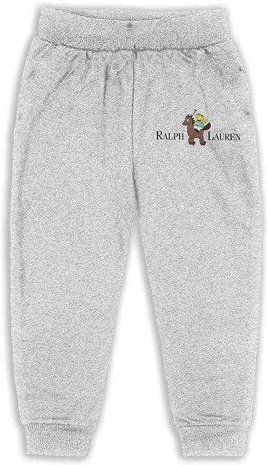 SHUANGFEI Boys Casual Jogger Sweatpants,Sloth Riding Llama Running Sport Pants for Kids Girls