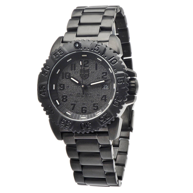Luminox 3152.BO - Reloj de Pulsera Hombre, Acero Inoxidable, Color Negro: Amazon.es: Relojes