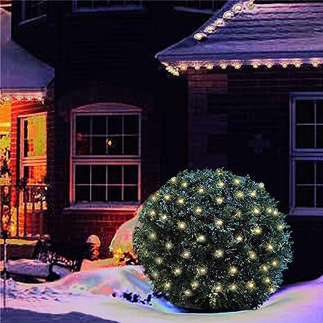 100 Luces Led De Navidad De 5 Pies X 5 Pies Luces De Red De Navidad