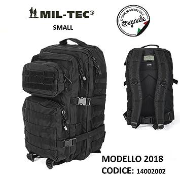 Bolsa Mochila incursore Assault Small 21 litros Militar Negro Versión 2018: Amazon.es: Deportes y aire libre