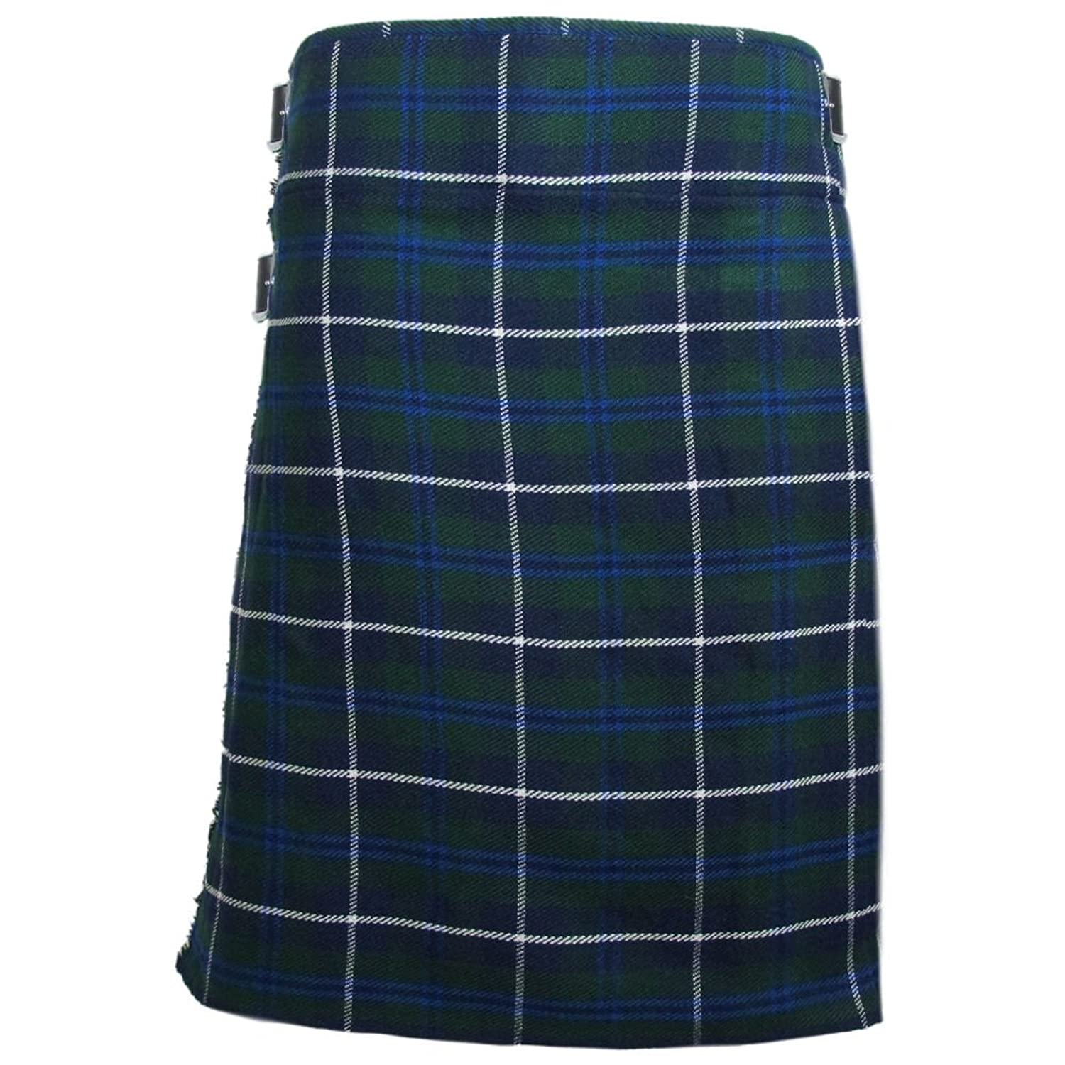 Tartanista - Scottish Highland Kilt - 4,6 m/284 g (5 Yard/10 oz) - Douglas-Blau - 76-137 cm (UK30-54)