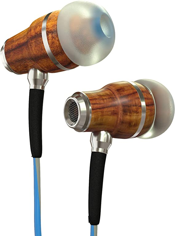 Symphonized NRG 3.0 Wood Earbuds Wired