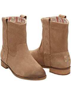 4b5eed28e86 TOMS Women Laurel Burnished Suede Boot