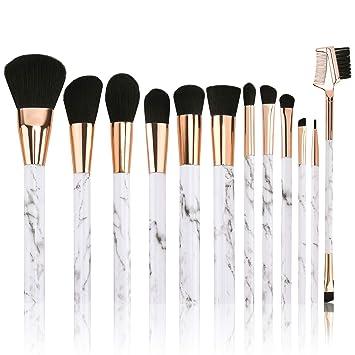 Professional Marble Makeup Brush Set,Tradeone High Quality Makeup Brush Gift Set Eye Face Eyeshadow