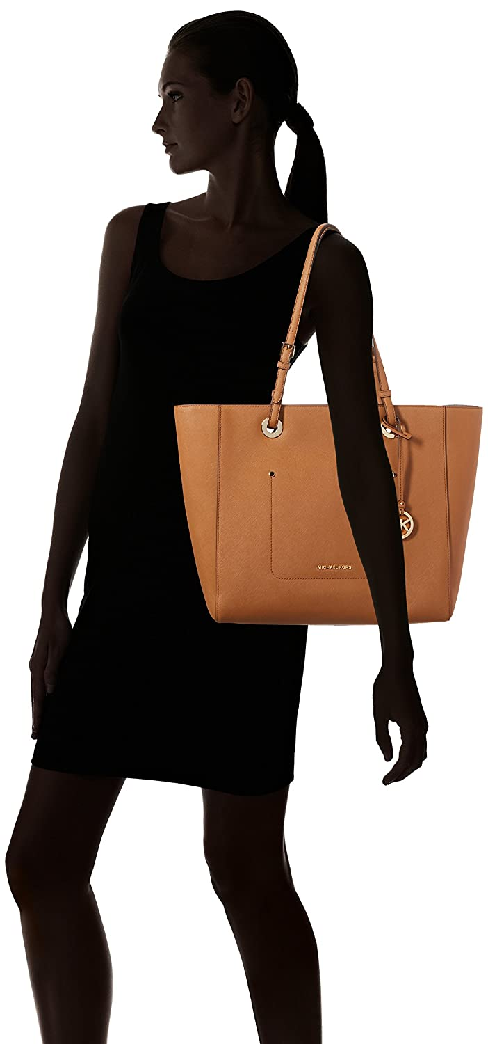 592dd8c110f4 Amazon.com: MICHAEL KORS WALSH ACORN LARGE TOTE BAG: Shoes