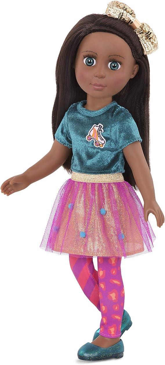 Glitter Girls Dolls – Odessa, Poseable Black Fashion Doll, 14