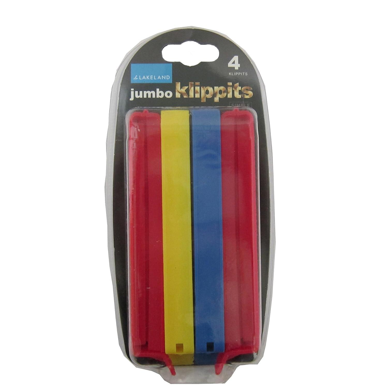 Lakeland Klippits Storage & Sealing Bag Clips 13cm - Pack of 4