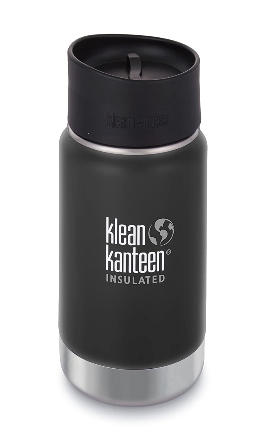 Klean Kanteen Wide Double Wall Vacuum Insulated Stainless Steel Coffee Mug with Leak Proof Café Cap 2.0 K12VWPCC-GPK