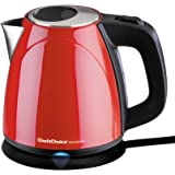 Chef's Choice 6730002 M673 International Cordless Compact Electric Kettle - Red, 32 oz.