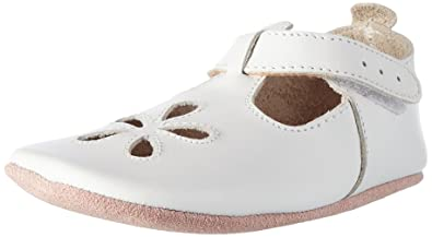 56e1951d04ca Bobux Baby Girls Shoes Premium Leather Soft Sole Shoes for Infants and  Toddlers M (9
