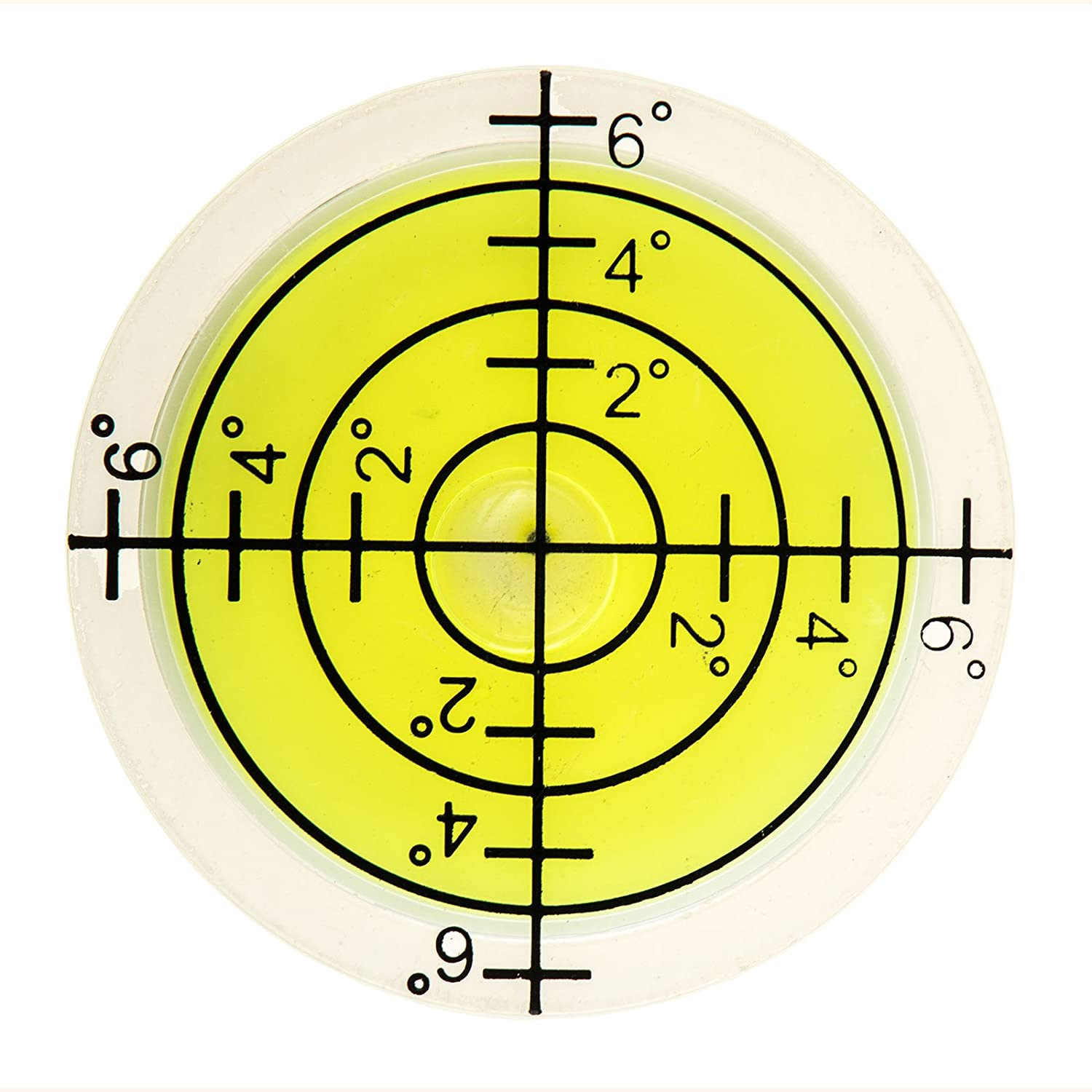 Circular Level with Angle Measurement 32 mm Diameter for Camping, Crafts, Photography etc lillybox