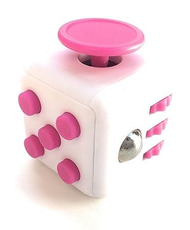 Amazon Zen Fidget Cube White And Pink Toys Games