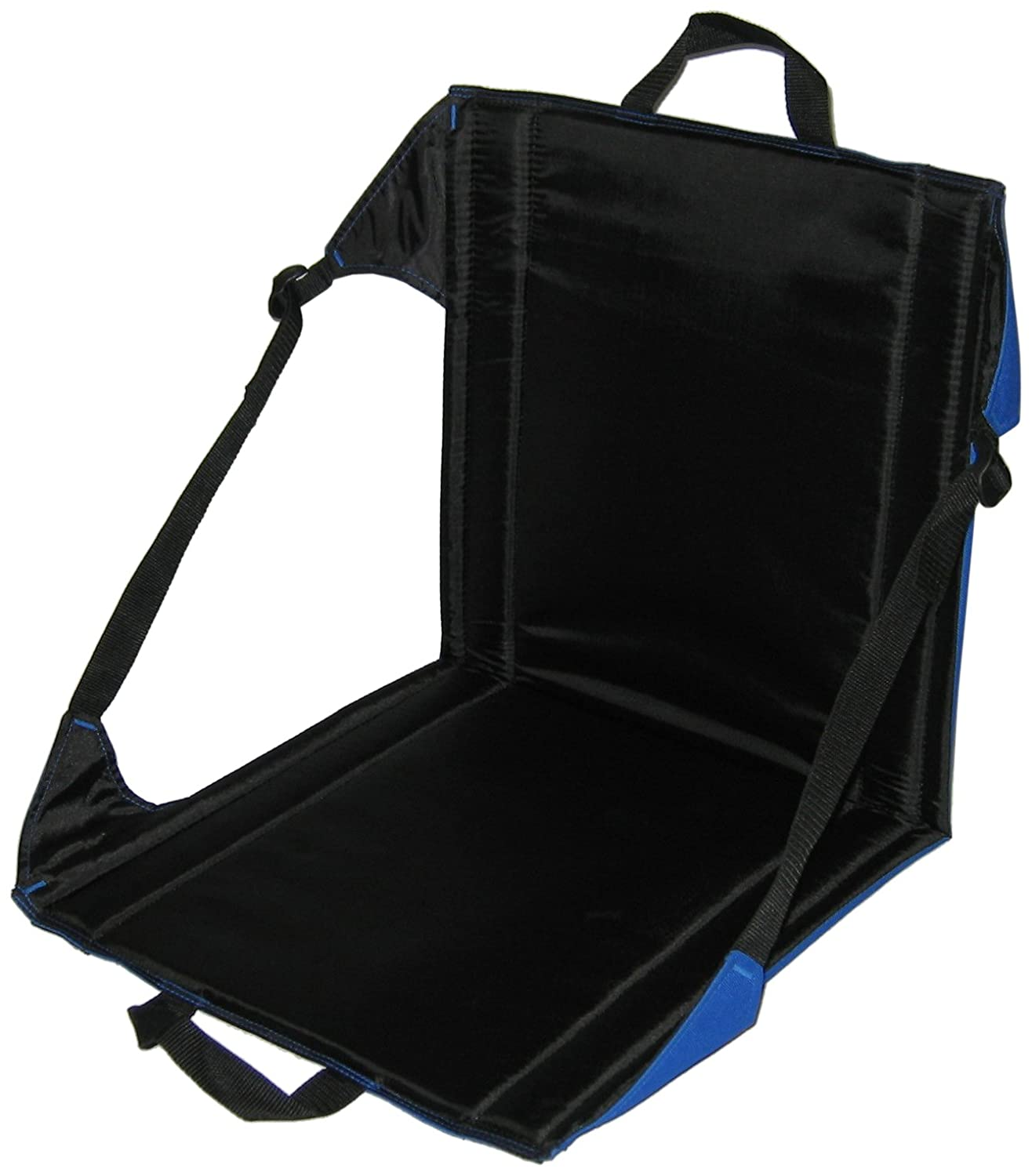 amazon com crazy creek the chair blue black camping chairs
