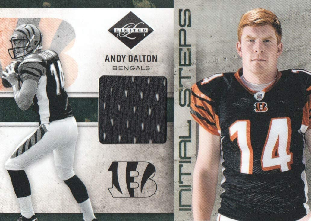 2011 Limited Initial Steps JERSEY NFL #33 Andy Dalton 19/99 ...
