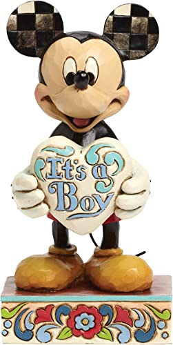 Department 56 Disney Traditions by Jim Shore New Baby Boy Figurine, 5.5