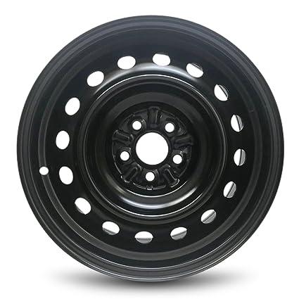 Amazon Com Toyota Corolla Matrix New Black Steel Wheel 16 Inch Full