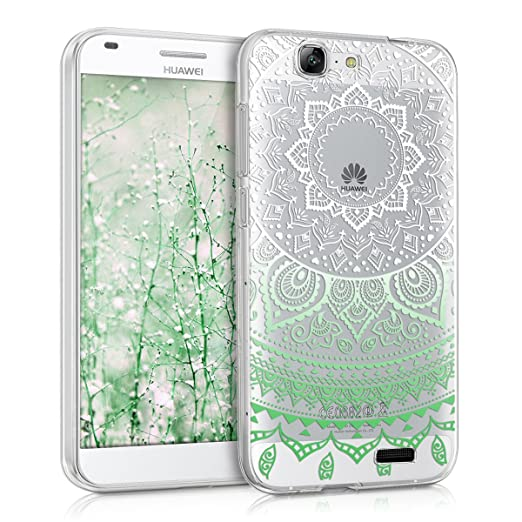 118 opinioni per kwmobile Cover per Huawei Ascend G7- Custodia in silicone TPU- Back case