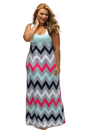 Gloria&Sarah Women\'s Wavy Chevron Print Striped Wavy Pattern ...