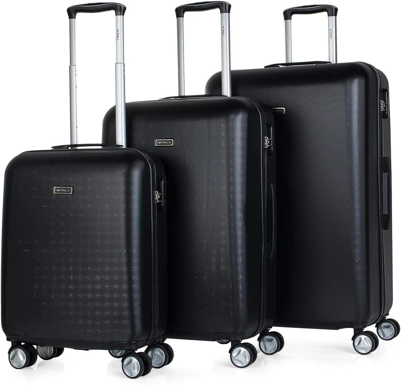 ITACA Rodano Juego de maletas, Juego de 3 Maletas
