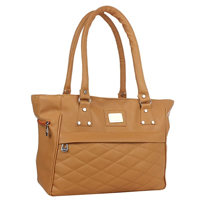 46d87c4228df7 Element Cart PU Material Hand Bag For Women Girls (Beige)  Amazon.in  Shoes    Handbags