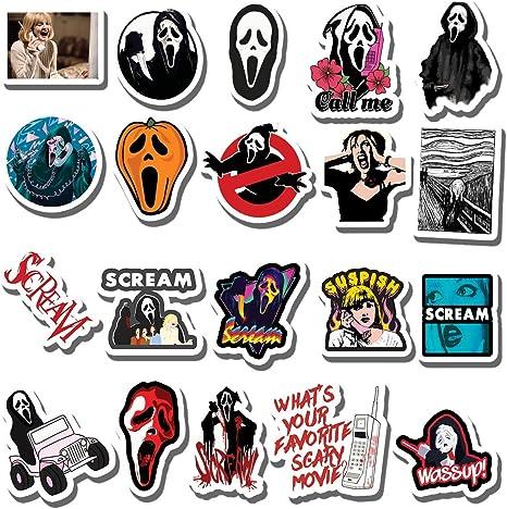 20 PCS Stickers Pack 3 Aesthetic Ninjas Vinyl Colorful Waterproof for Water Bottle Laptop Bumper Car Bike Luggage Guitar Skateboard