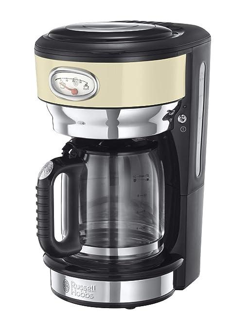 Russell Hobbs Retro 21702-56 - Cafetera de goteo, jarra cafetera ...