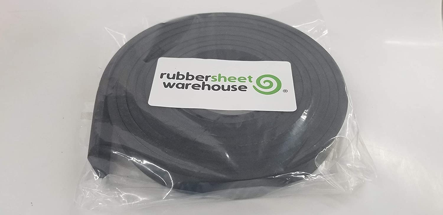 Smooth Finish Rubber Sheet Warehouse .187 3//16 Thick x 1 Wide x 5 long -Neoprene Rubber Strip Commercial Grade 65A Perfect for Weather Stripping Gasket Solid Rubber Costume /& DIY Projects /…