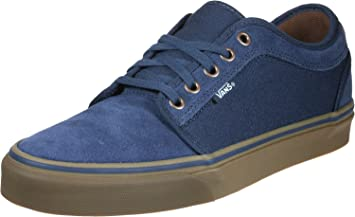 c0e3dc27ac593a Vans Chukka Low Rich -Fall 2017-(VA38CGOVR) - Navy gum - 16  Amazon ...