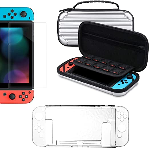 Kit de accesorios para Nintendo Switch, tendak funda de transporte ...