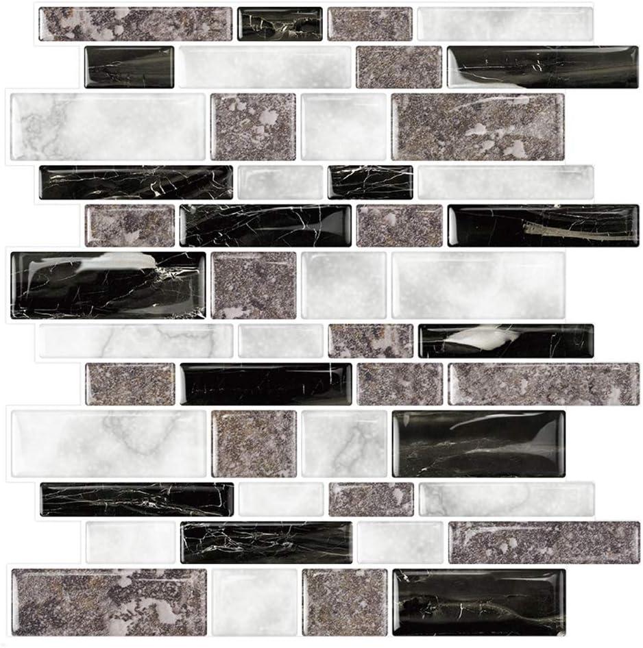 - Amazon.com: STICKGOO Marble Look Peel And Stick Tile Backsplash