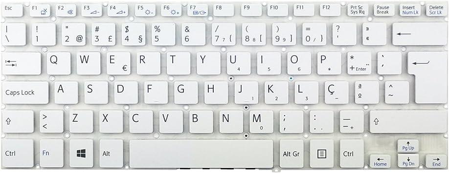 Teclado de portátil PT Sony - KBSYSF14 Compatible con Sony ...