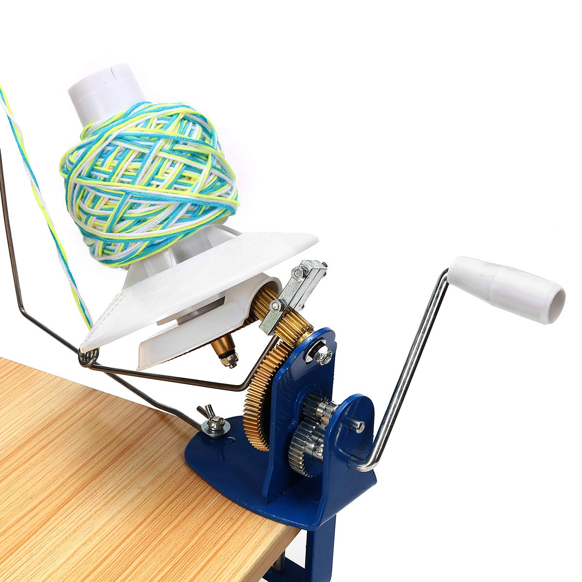 10 Ounce Practical Heavy Needlecraft Metal Yarn Fiber Wool Ball Winder Hand Operated Coil winder For Sewing Accessories Tools