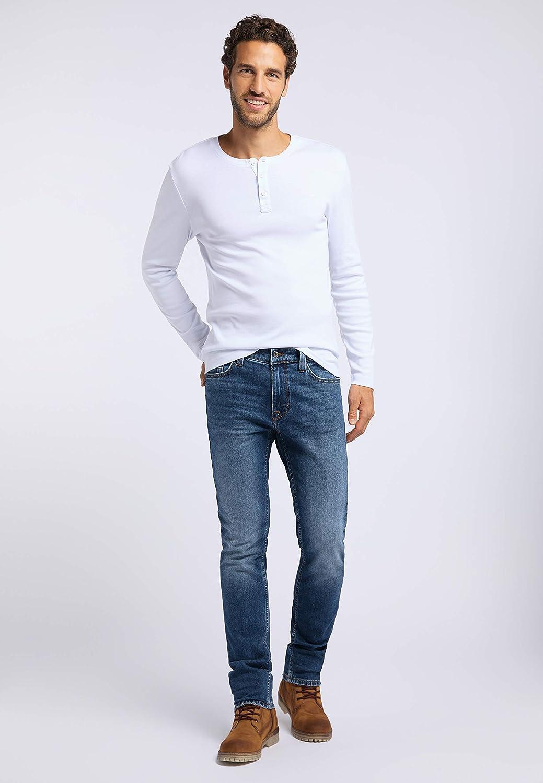 Mustang Men's Vegas Slim Jeans Blue (Medium Dark 782)