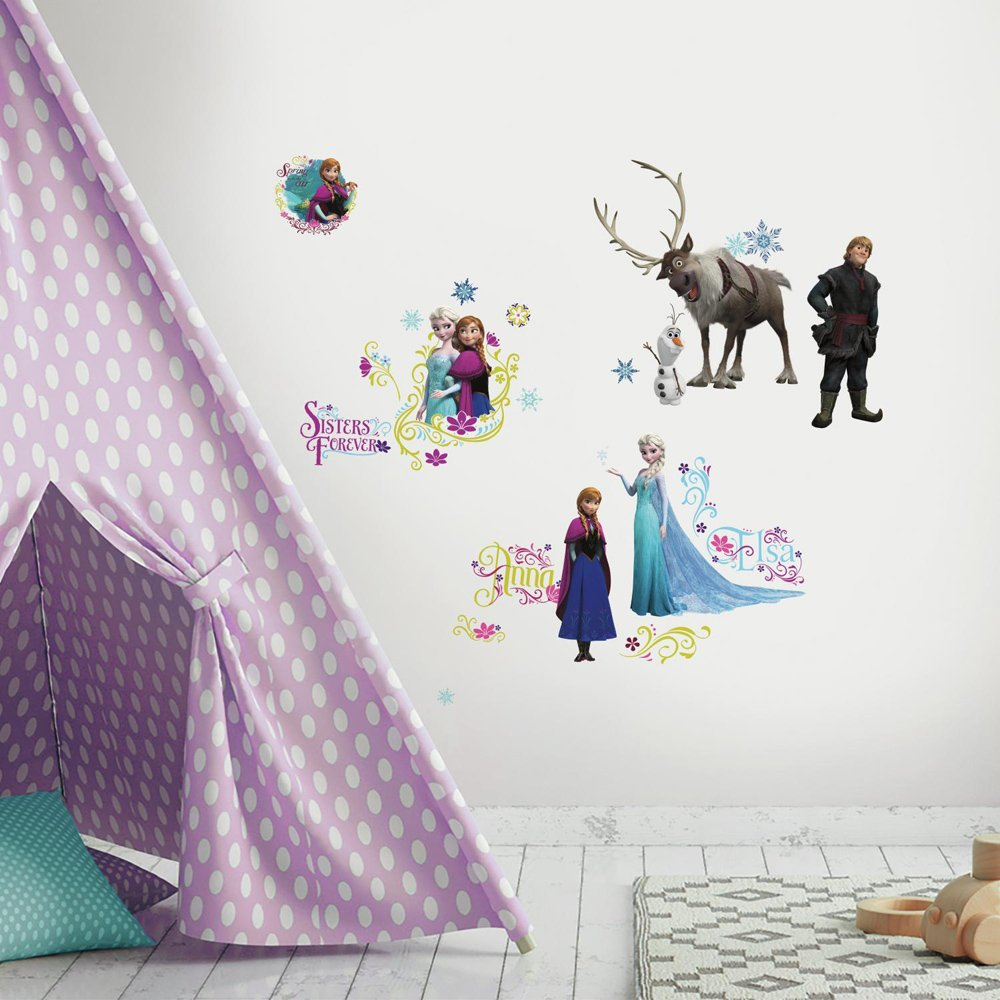 RoomMates Disney Frozen Peel And Stick Wall Decals - RMK2361SCS