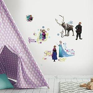 RoomMates Disney Frozen Peel And Stick Wall Decals - RMK2361SCS