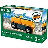 Brio - Locomotora de carga a pilas (33215)
