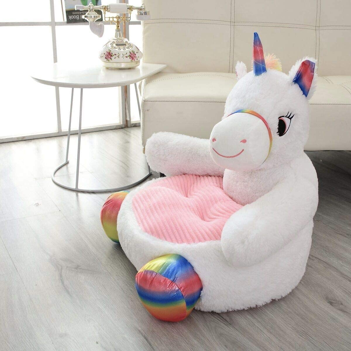 MJTP Poltrona per Bambini Grey Elephant Seat Sofa Chair Baby Snuggle Sofa Peluche Camera da Letto Playroom