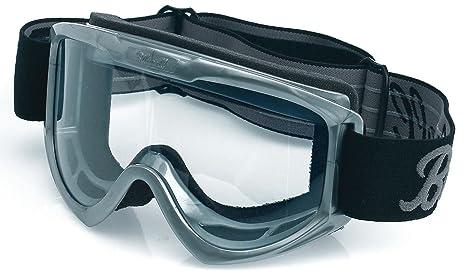 3f30e91ebfec Amazon.com  Biltwell Moto Goggles (Grey