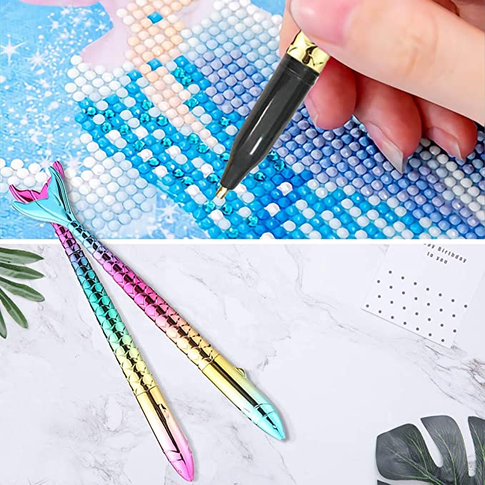 Diamond Painting Pen Stylus Drill Dropper PUMPKIN SPICE Comfort SQUARE TIP