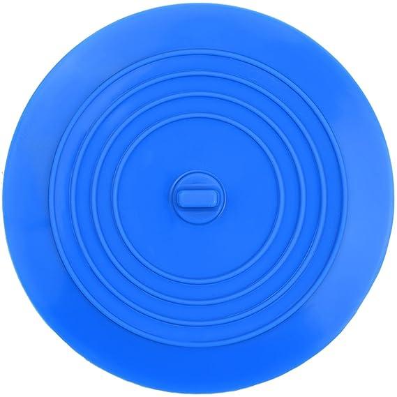 Mudder Tapón de Bañera de Silicona Tapón de Desagüe para Cocina, Baño y Lavaderos 6 Pulgadas (Azul): Amazon.es: Hogar